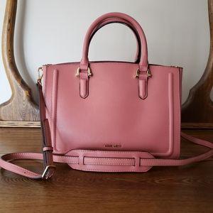 Nine West Harper Satchel Bag - Pink